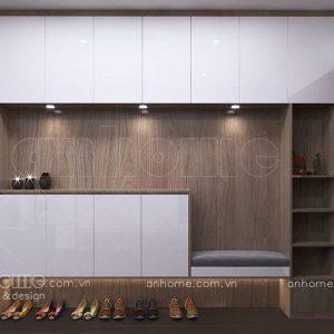 Thiết kế tủ giày nhà chung cư